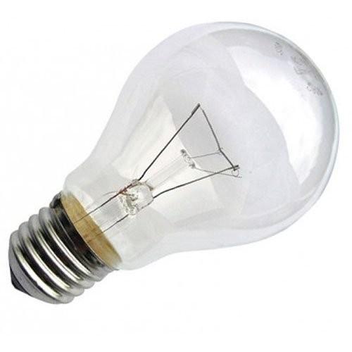 IEK, Лампа накаливания шар 95Вт A55 E27 прозрачная