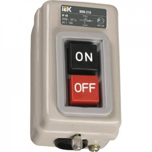 IEK, Выключатель ВКИ-230 3Р 16А 230/400В IP40
